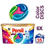 Persil 4in1 DISCS Color, 6er Pack (6 x 35 Waschladungen)