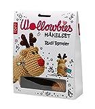 NEU!!!! Wollowbies - Häkelset 'Rudi Rentier' mit Anleitung, Steckbrief und Material für ein süßes Rentier