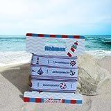 Etikettenband Sealove 314501 Webband Maritim