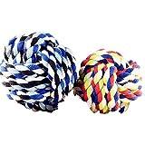 Nikgic Sieben-farbenen Hund Spielzeug Niedlichen Baumwolle Ball Seil Interaktive Spielzeug Qualität sicher ungiftig Baumwolle Seil Hund Haustier Spielzeug Reinigung Zähne Spielzeug