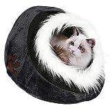 Yaheetech Haustierhaus Katzenhöhle Bett Haustiere Iglu Bett kuschelhöhle für Katzen, kleine Hund