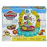 Play-Doh E5109EU4 Keks-Karussell, Knete für kreatives und fantasievolles Spielen, Mehrfarbig, 8,1 x 27,9 x 21,6 cm
