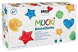 Mucki 24160 - Bastelfarben, 6er Set