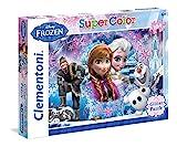 Clementoni 27248.8 - 104 T Glitter Frozen Queen of the North Mountain, Klassische Puzzle