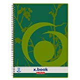 5x Collegeblock/DIN A4 / Spiralblock/kariert/Recyclingpapier