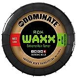 Dominate Rok Waxx - Hair Styling Haarwachs mit Bienenwachs - Salon Serie - Faktor 4: starker Halt - Wet Look - 85g