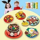Knetformen-Set aus Ton, handgefertigt, Schlamm Farbe, Sushi Farbe, 1 Set