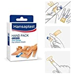Hansaplast Hand Pack Elastic fabric Plasters 4 Formats 20 Strips by Hansaplast