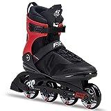 K2 Herren Fitness Inline Skates F.I.T. 80 Pro - Schwarz - EU: 45 (US: 11.5 - UK: 10.5) - 30C0716.1.1.115