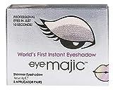 Eye Majic - Instant-Lidschatten - leichtes, professionelles Make-up in 10 Sekunden - 5 Paar - Smokey Eyes - 001