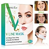 V Gesichtsmasken,Anti-Falten-Gesichtslifting V-Form Maske,V-Typ Feuchtigkeitsspendende Gesichtsmaske
