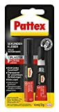 Pattex Sekundenkleber Plastix 2 g und 4 ml, PSA1C