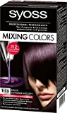 Syoss Mixing Colors Coloration 1-13 Edles Schwarz-Violett, 3er Pack