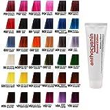 Anthocyanin Haar Maniküre Farbe 230g (V03 Purple) Semi Permanent Haarfarbe Verlockende -UV Schutz Pflanzen Protein