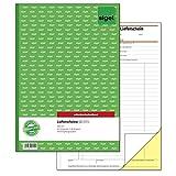 Sigel SD015 Lieferscheine A4, 2x40 Blatt, selbstdurchschreibend, 1 Stück