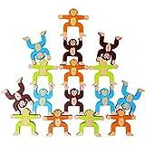 Lewo Holzspielzeug Stapeln Spielzeug Lernspielzeug Für Mädchen Jungen Kinder ab 3 Jahr