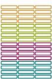 Avery Zweckform 63003 Etiketten zur Kennzeichnung von Stiften, 51 Aufkleber