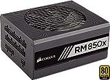 Corsair RM850x PC-Netzteil (Voll-Modulares Kabelmanagement, 80 Plus Gold, 850 Watt, EU)