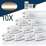 [10er PACK zum Sparpreis] SBARTAR LED Leuchtstoffröhre 150cm Tageslicht Neutralweiß 4000K 22W - Neonröhre 54 Watt - Ersatz für T8 Rasterleuchte Bürolampe Deckenleuchte / Leuchtstofflampe - 2500lm - inkl. Starter - 270° Abstrahlwinkel