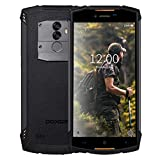 Outdoor Handy 4G, DOOGEE S55 2019 außen Smartphone ohne Vertrag, Robustes Telephone Portable IP68 wasserdicht stoßfest staubdicht Mobile 5,5 Zoll 5500mAh 4+64GB Android 8 Dual SIM GPS Kompas - Orange