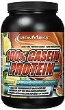 IronMaxx 100 Prozent Casein Protein - Banane-Yoghurt, 1er Pack (1 x 750 g)