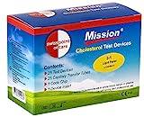 Swiss Point Of Care 3 in 1 Cholesterin Teststreifen und weiteres Messzubehör | 25 Teststreifen, inkl. 25 Kapillar Transferschläuche, 1 Codechip, 1 Geräteeinsatz