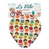 Fahrradsattelbezug, verschiedene Designs zur Auswahl, damen, Mid Century Poppy