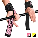Fitself Zughilfen Herren Damen Handgelenkschutz Stabilität Lifting Straps für Fitness Gewichtheben Powerlifting Bodybuilding Krafttraining