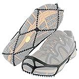 Yaktrax yaktrax walker, Unisex - Erwachsene Anti-Rutsch-Sohlen/Schuhkrallen, schwarz, Small