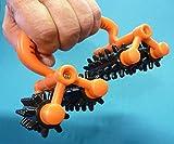 Massage Roller ROLLI V2 mit 2 GELENKEN Länge 18cm