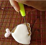 6Anreißnadel Nadel Modellierwerkzeug Markieren Muster Puderzucker Kuchen dekorieren, zufällige Farbe von aixin