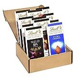 Lindt Les Grandes Schokoladentafel Set, 9 unterschiedliche, Les Grandes & Grand Plaisir Schokoladentafeln à 150g, Sortimentskarton, 1er Pack (1 x 1,35 kg)