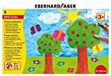 Eberhard Faber 578806 - EFAColor Fingerfarbe 100 ml in Schachtel, 6 Stück