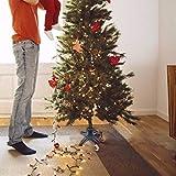 Um 360 Grad drehbarer Weihnachtsbaumständer - Elektrischer Weihnachtsbaum-Drehsockel für künstlichen Weihnachtsbaum mit einer Länge von bis zu 7,5 Fuß