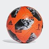 adidas Fussball Telstar 18 World Cup Glider WM 2018 Solar Red/Black/Silver Met. 4