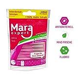 Interdentalbürste Pink von MARA EXPERT | 0,4mm ISO 0 extra fein | 12 + 2 Interdentalbürsten - Bürsten für Zahnzwischenräume | Zahn Pflege Ergänzung