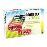 Anabox 7 Tage Regenbogen Tablettenbox, 1 St.