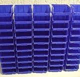 3 Größen im SET 60 Stapelboxen im Paket Sichtlagerboxen