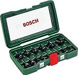 Bosch DIY 15tlg. Fräser-Set HM (1/4'-Schaft)