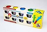 Knet Star Knete-Set 8-teilig mit Ausstechförmchen (Typ 3)