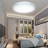 VGO 50W LED Kristall Deckenleuchte Kaltweiß Starlight Deckenbeleuchtung Wohnzimmer Sternenhimmel Deckenlampe Korridor Schlafzimmer Schönes Mordern Badleuchte