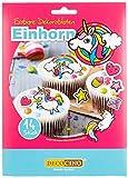 Dekoback Essbare Dekoroblaten Einhorn, 2er Pack (2 x 9 g)