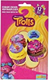 Dekoback Essbare Zucker-Muffinaufleger Trolls, 1er Pack (1 x 46 g)
