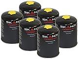 Skandi 6er-Sparpack Gas-Kartuschen (Butan/Propan) für Gaskocher & -Brenner
