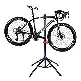 COSTWAY Fahrradmontageständer Fahrrad Montageständer Reparaturständer Fahrradständer mit Werkzeugablage höhenverstellbar