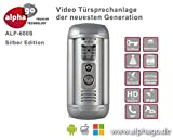 LAN IP Video-Türsprechanlage ALP-600S-Gegensprechanlage-Türüberwachung-kein Cloud Server-Fritz!Fon C4/C5 kompatibel-Steuerung über PC/Smartphone / Tablet-FTP Anbindung