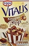 Dr. Oetker Vitalis KnusperPop Schoko: Knuspermüsli mit leckeren Luftschokoladestückchen, 6er Packung (6 x 450g)