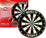 BULL'S Focus II Bristle Dartboard