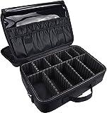 DCCN Kosmetikkoffer Professionelle Kosmetiktasche Beauty Case Reisengepäck mit Schultergurt