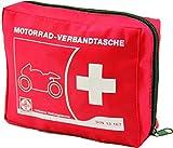 Actiomedic CAR SAFETY Motorrad-Verbandtasche DIN 13 167:2014 Rot